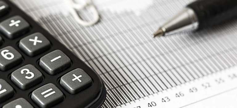 Taschenrechner und Statistik.